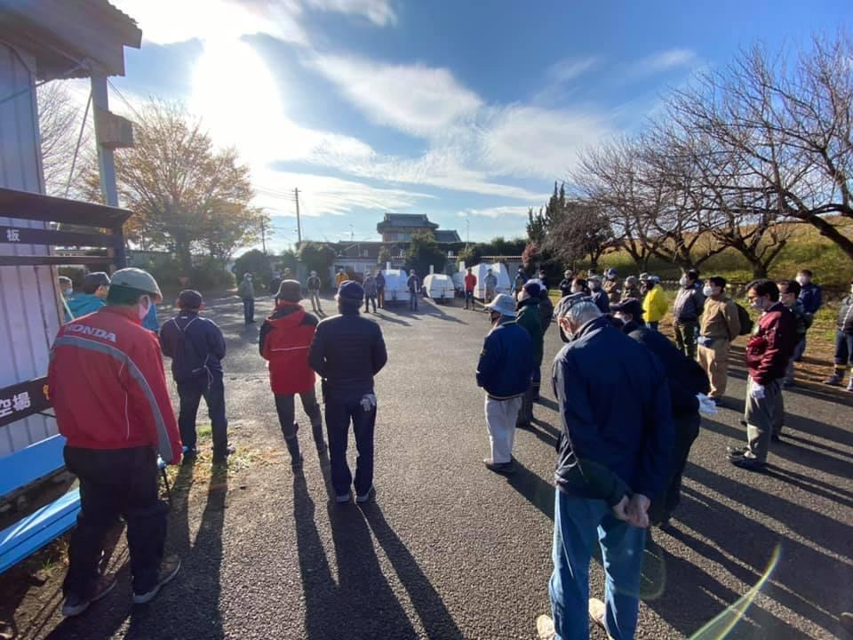 12月6日(日) 午前:関宿大掃除 午後:ASK21☓3